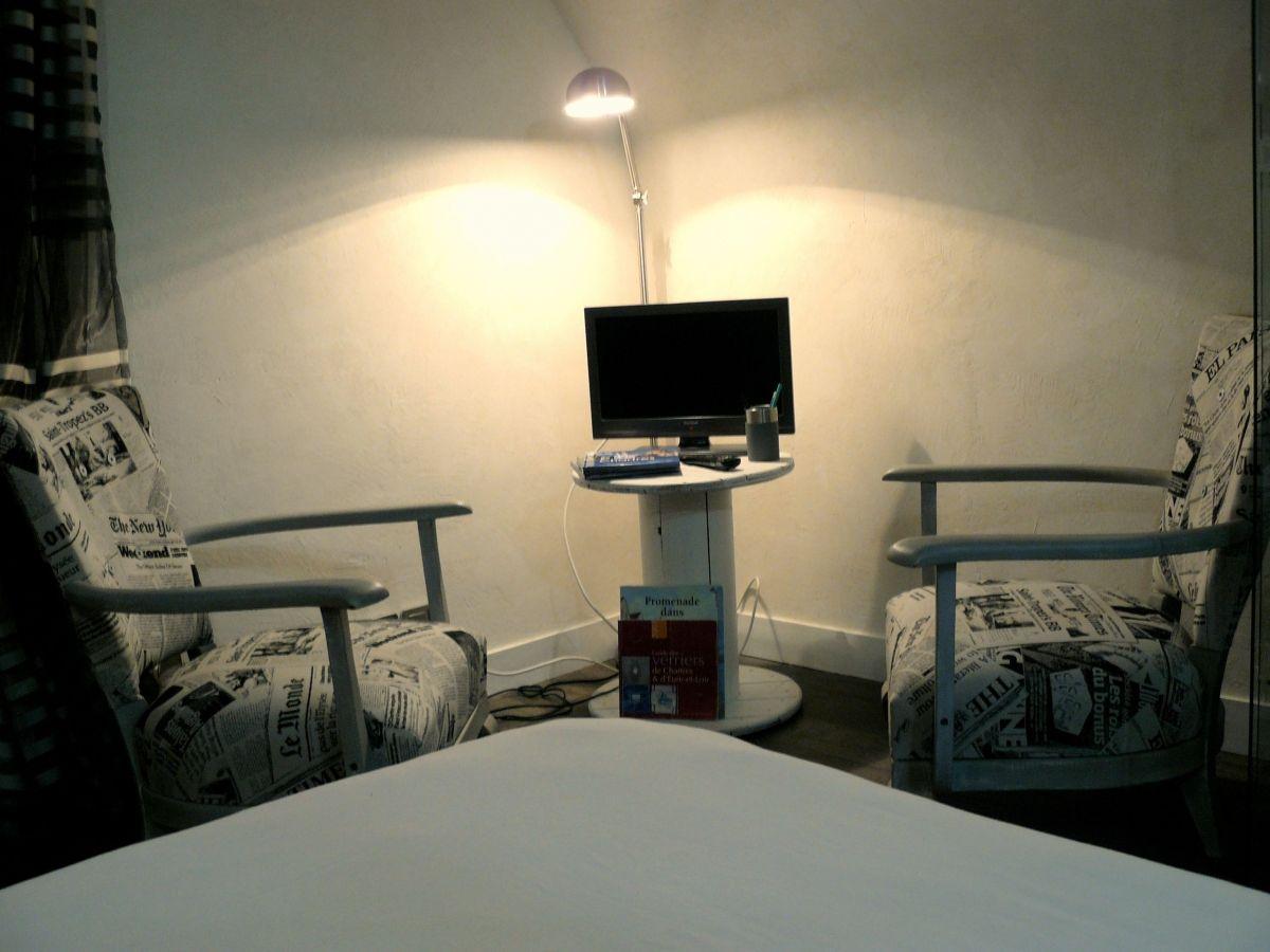 chambre loft maison d 39 h tes chartres les convivh tes. Black Bedroom Furniture Sets. Home Design Ideas