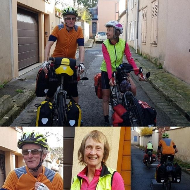 Bike Home Chartres - Awesome Meeting With Pauline and Hugh