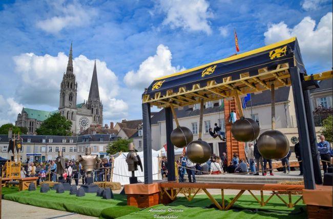 Campement Médiéval Chartres - Les Convivhotes